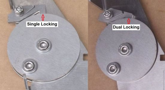 Comparison Locking Seat Hinge