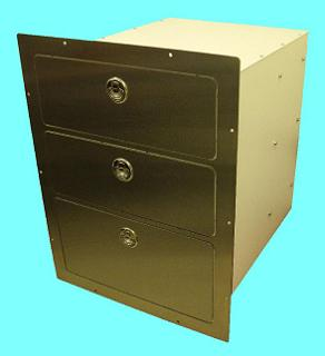 Gasketed S.S. Drawer Unit